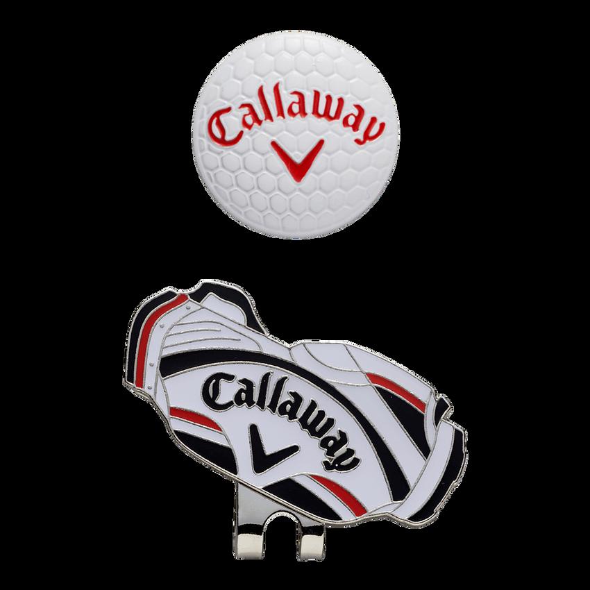 キャロウェイ ゴルフ バッグ モチーフ マーカー 19 JM - View 1