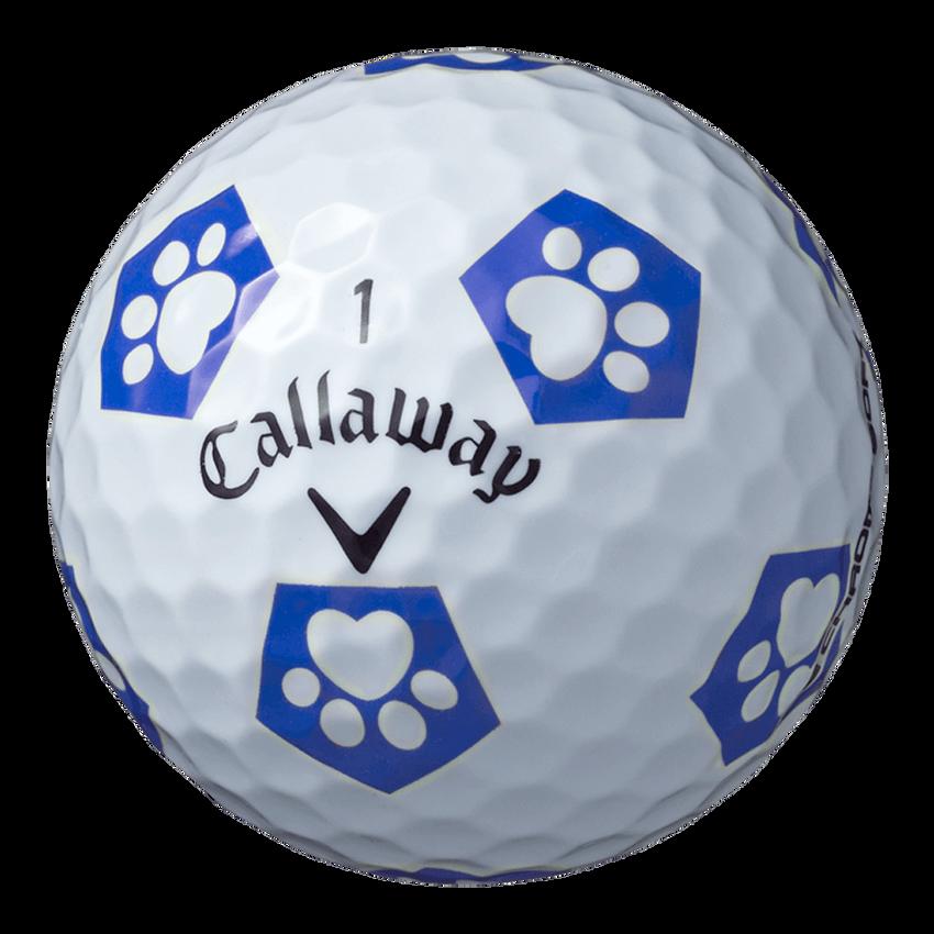 CHROME SOFT TRUVIS キャロワン ボール ホワイト / ブルー CE(半ダース) - View 2