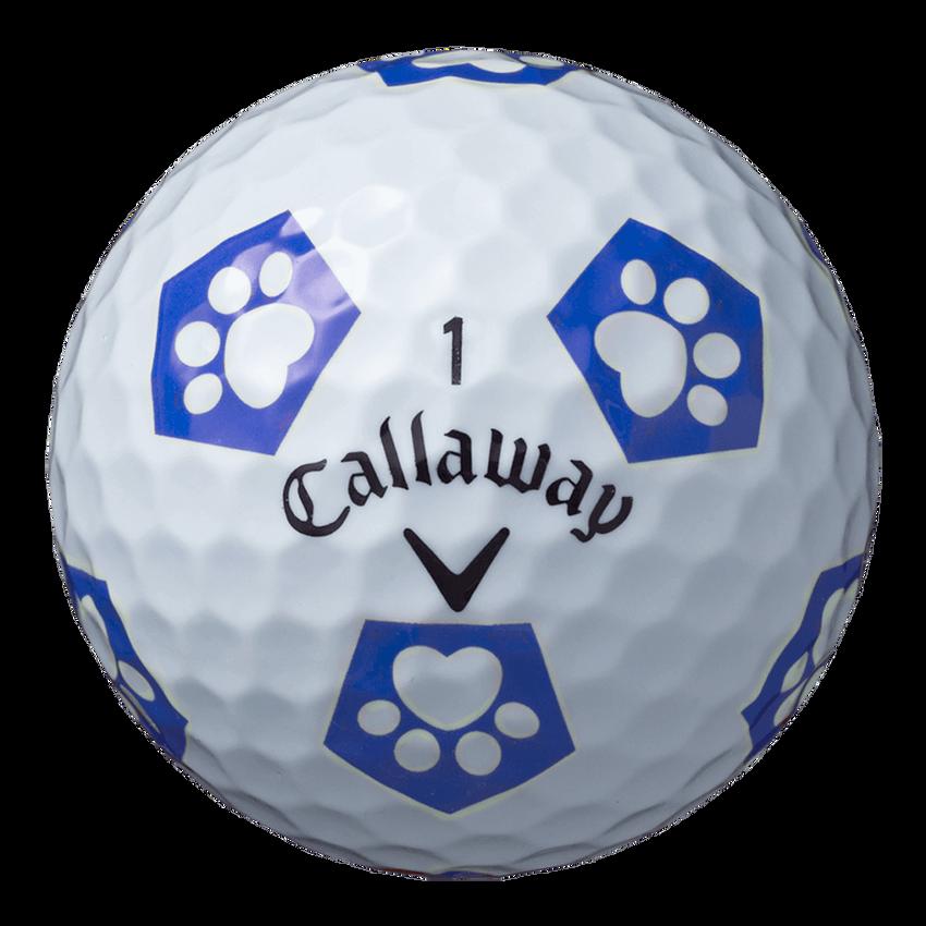 CHROME SOFT TRUVIS キャロワン ボール ホワイト / ブルー CE(半ダース) - View 4
