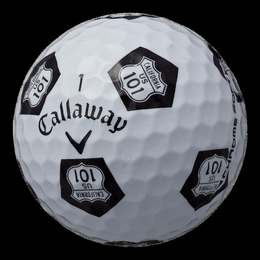 CHROME SOFT TRUVIS HIGHWAY 101 ボール ホワイト / ブラック CE - View 2
